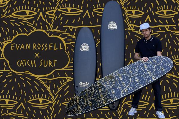 LOG X EVAN ROSSELL PRO 8' SURFBOARD